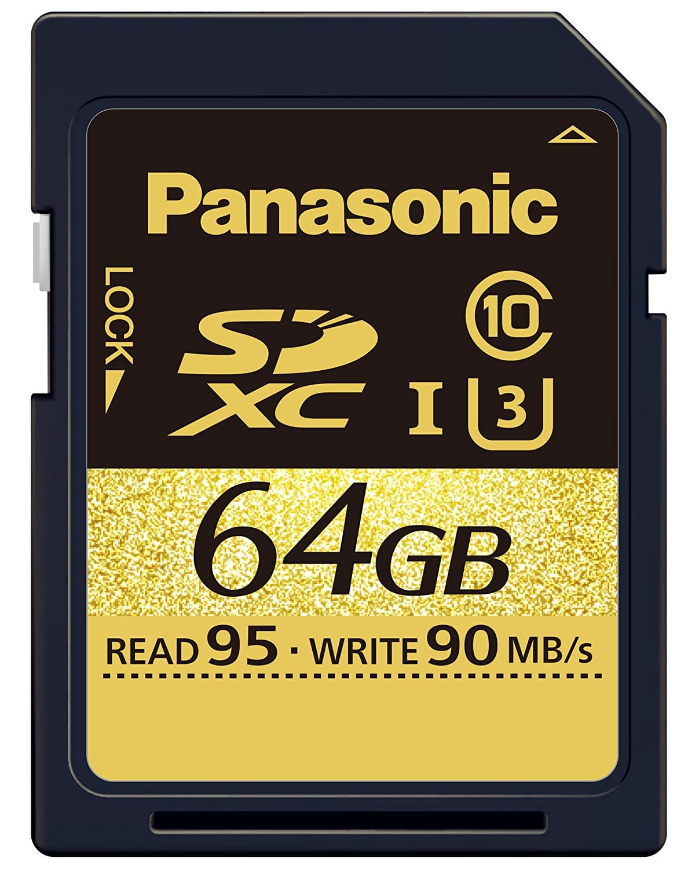 Panasonic RP-SDHCUD64GAK Carte mémoire SDHC Classe 10 64 Go