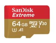 Carte mémoire microSD SanDisk Extreme 64 Go